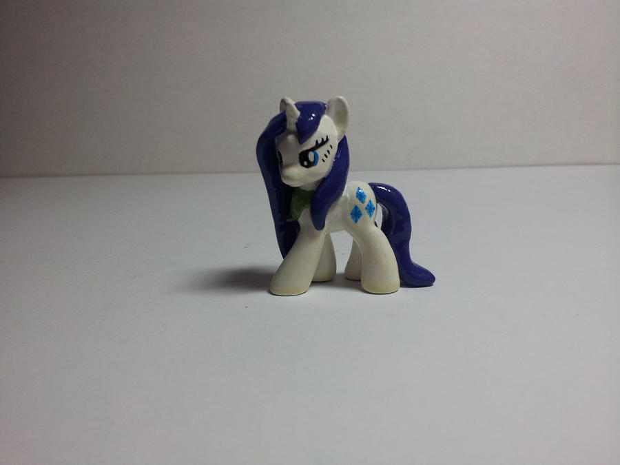 My Little Pony Custom Blindbag: Wet Mane Rarity by CJEgglishaw