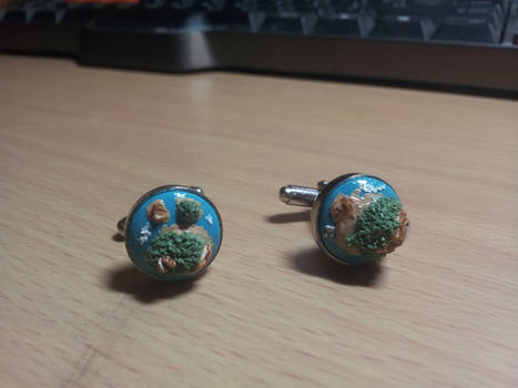 Island Custom Cufflinks