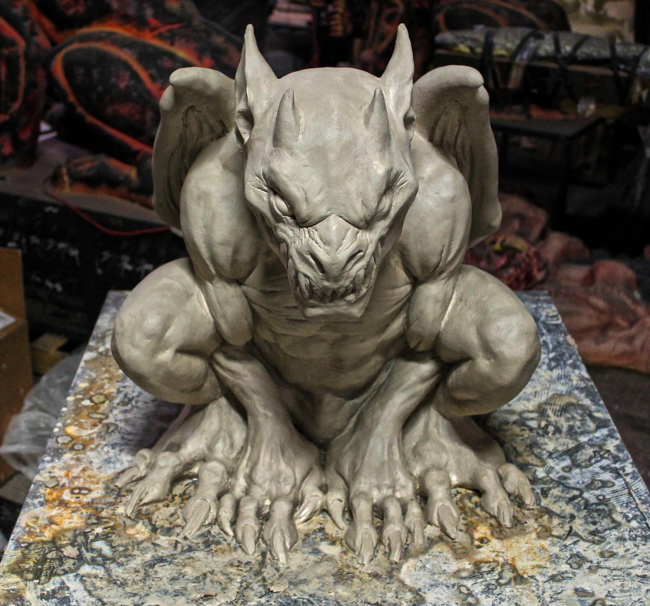 Distortions unlimited gothic gargoyle ver 2 by for Tattoo shops in greeley