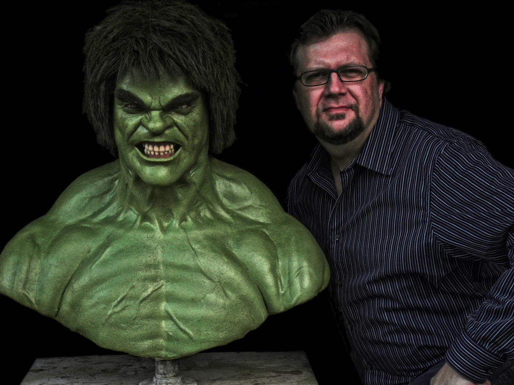 Lou Ferrigno Hulk Make...