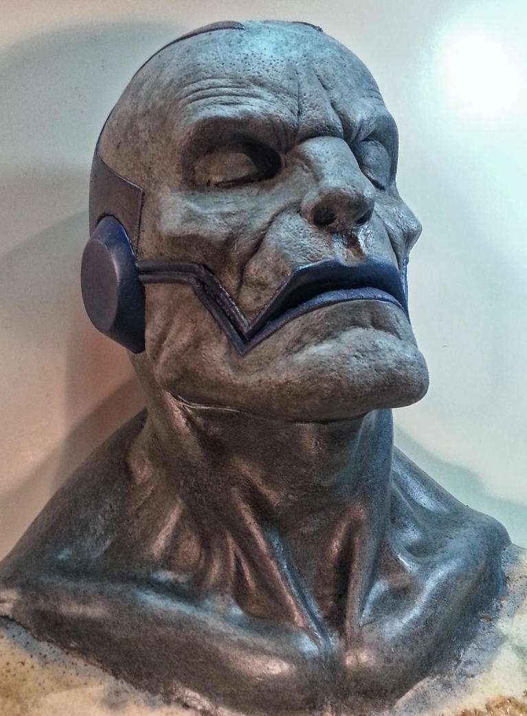 Apocalypse Prosthetic Paint Test by SkinStripper