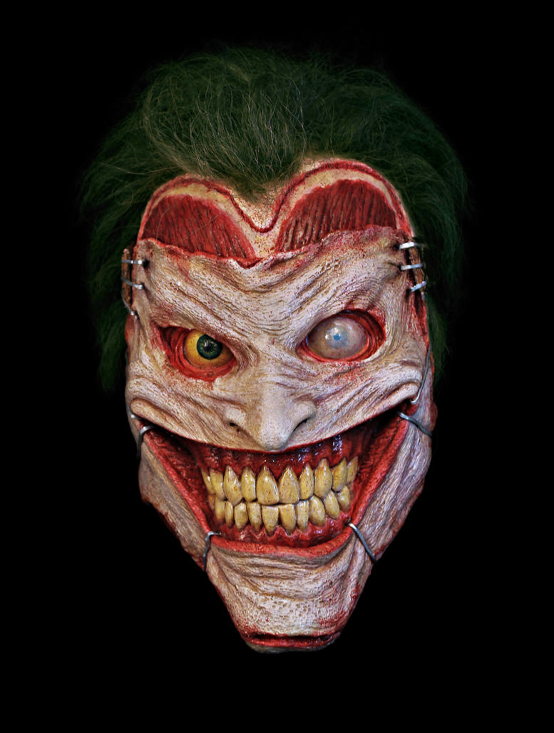 New 52 Joker Wall Hanging and Masks by JoynerStudio