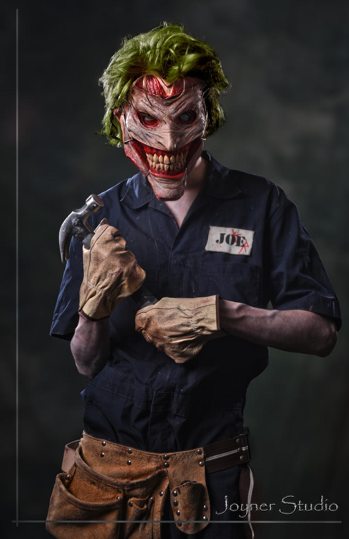 Joyner Studio New 52 Joker Mask Photoshoot by JoynerStudio