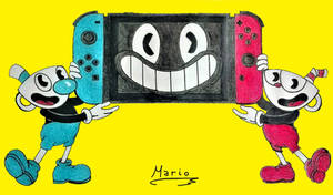 Cuphead for Nintendo Switch.