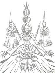 Blasphemous: Tres Angustias.