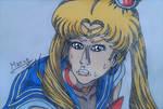 Sailor Moon redraw challenge. by Mario-19