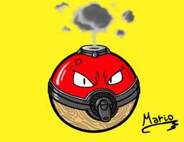 Voltorb in Pokemon Legends: Arceus. by Mario-19