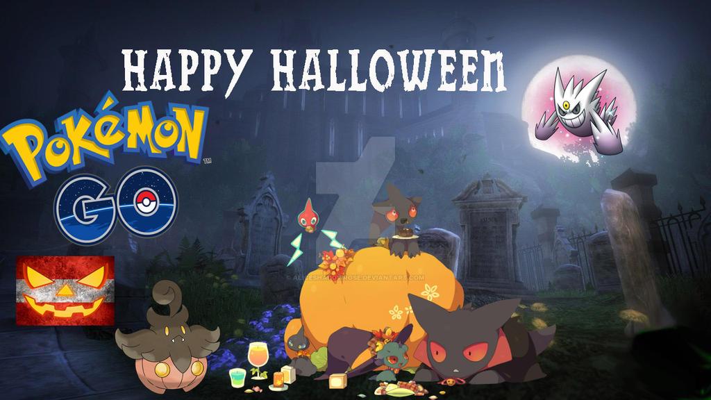 Pokemon Go halloween Banner by AliceShadowRose on DeviantArt