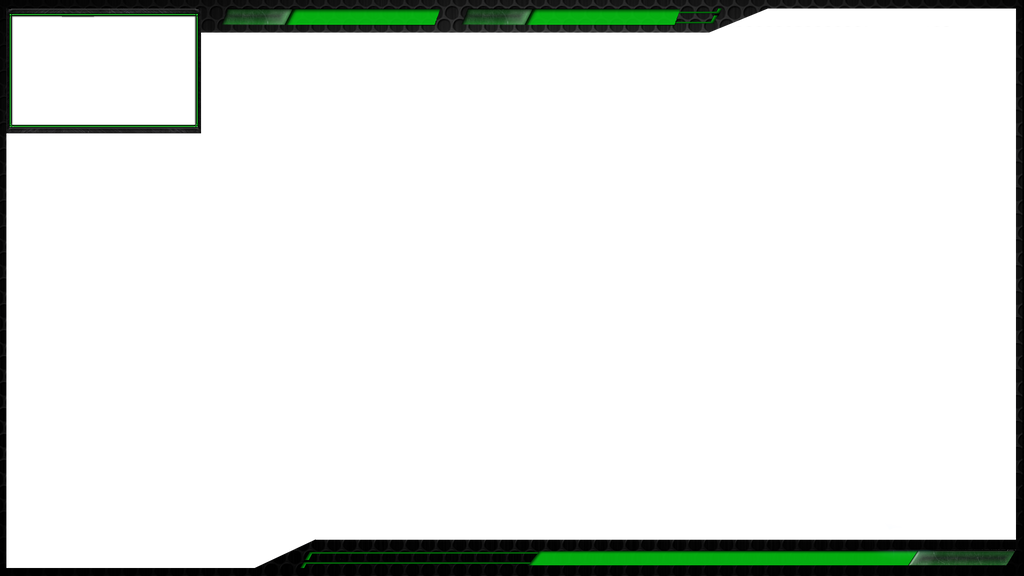 Green hexa overlay by aliceshadowrose on deviantart for Free twitch overlay template