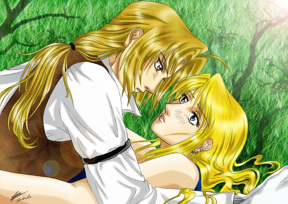 Edward Elric And Winry Rockbell Married Edward x Winry by Came...