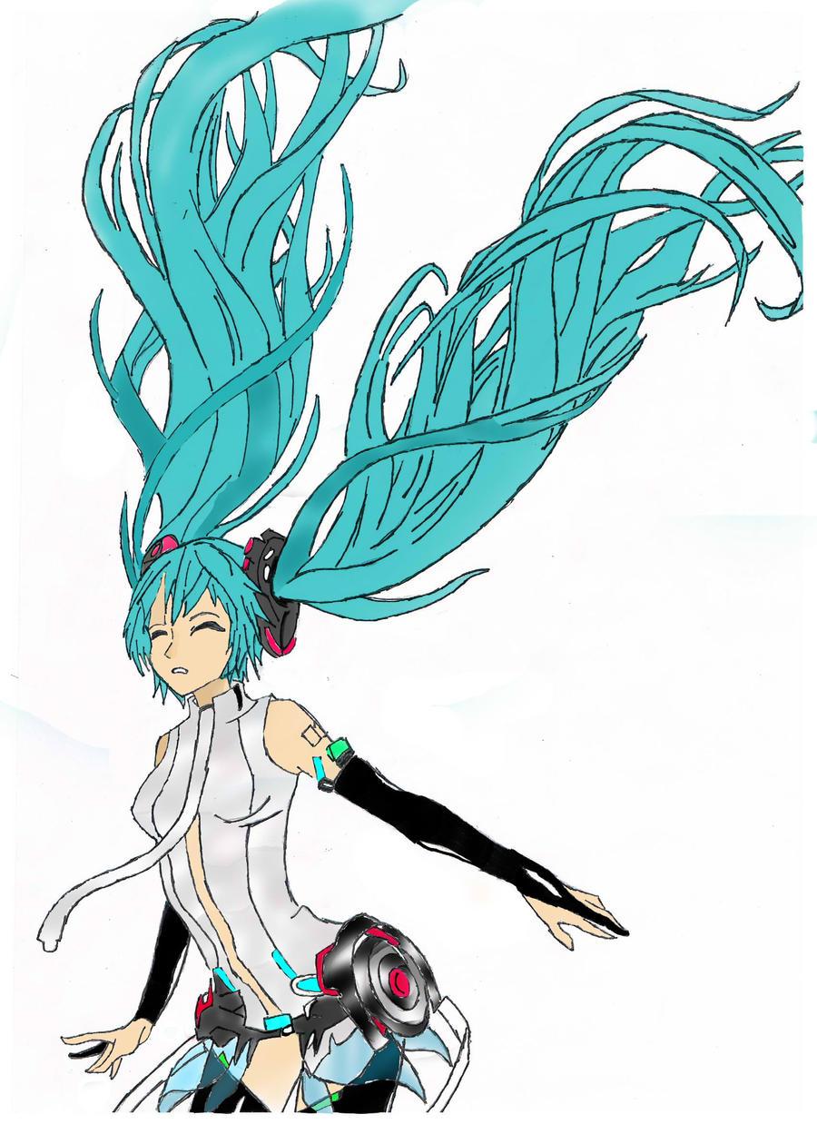 Hatsune Miku Append by NekoRin99