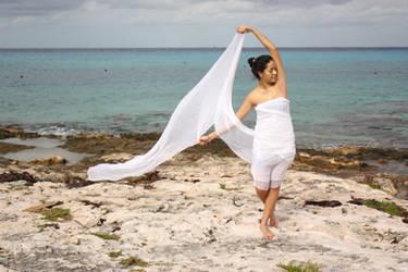 white fabric III by Amiba-stock