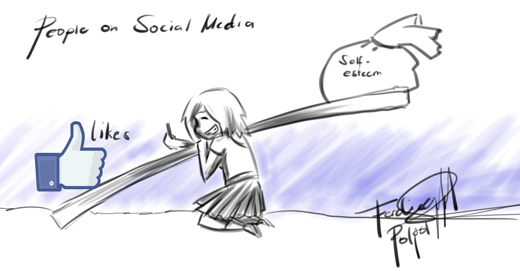 Social Media and Self Esteem by HyMaster