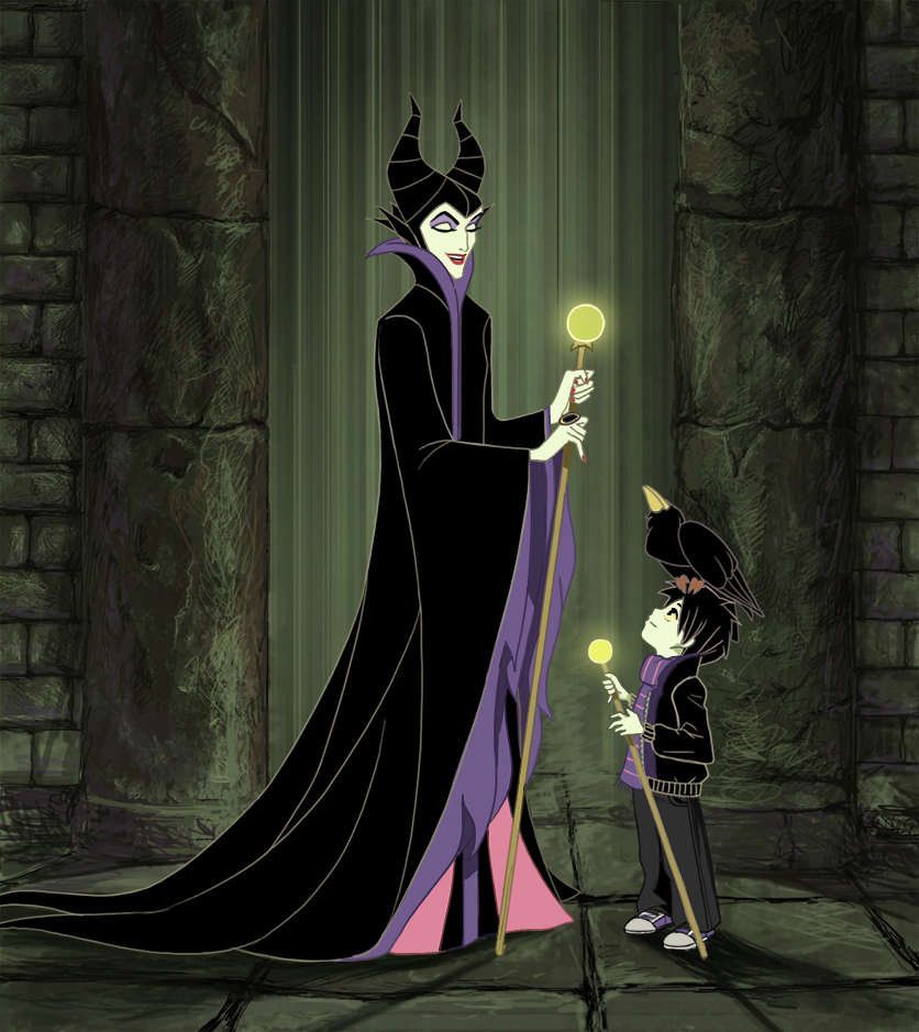 Commision Maleficent With Malphas By Precia T On Deviantart