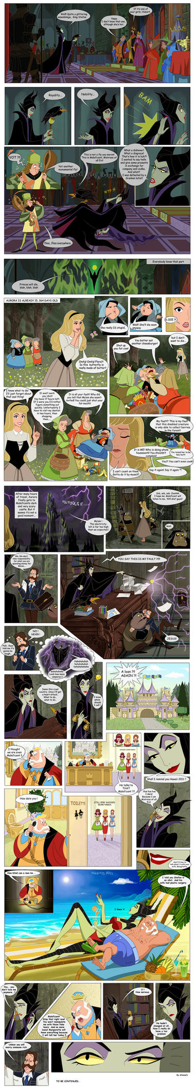 Maleficent true story #1 by Precia-T