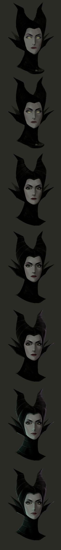 Maleficent- tutorial by Precia-T
