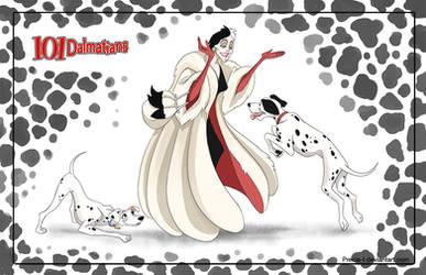 Friendly Villains #1  - 101 dalmatians