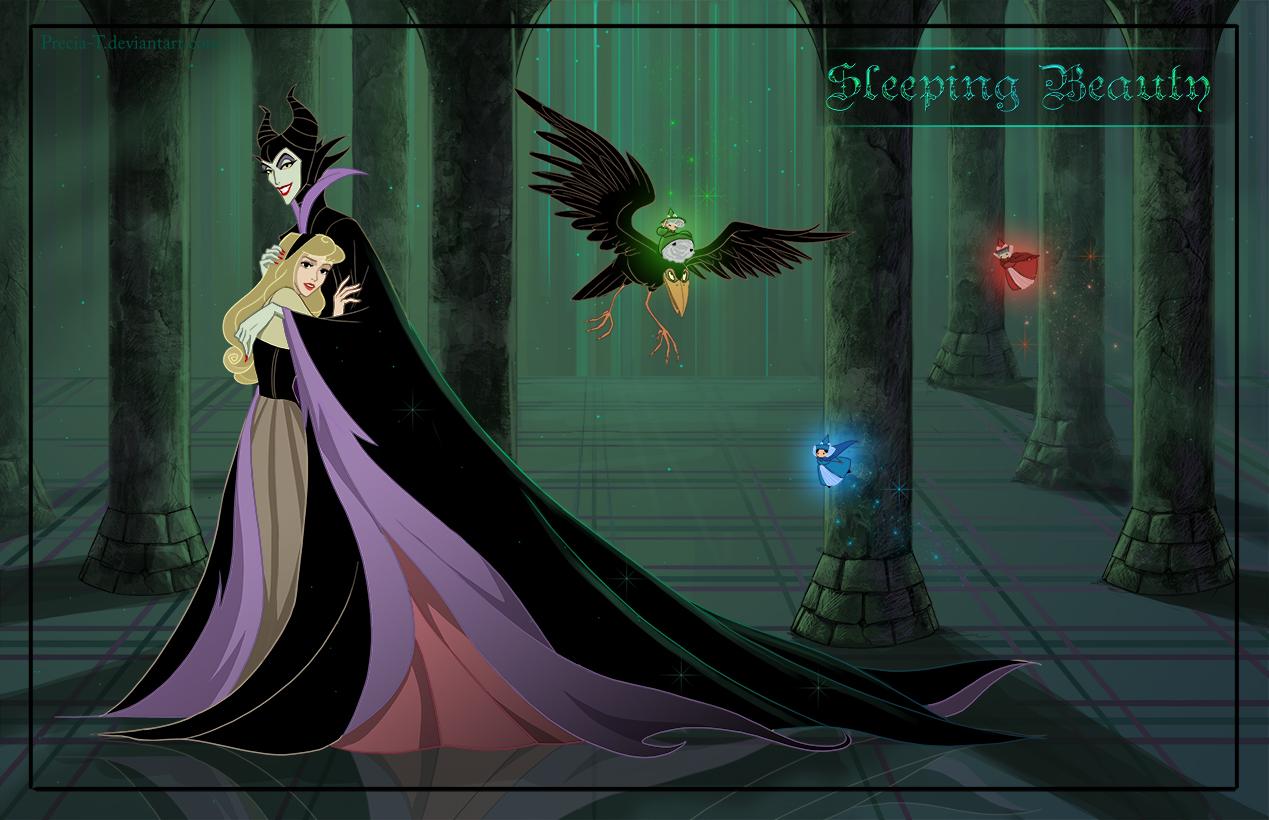 Friendly Villains #4 - Sleeping beauty by Precia-T