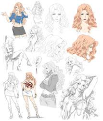 Female design, Ruby (Commision) by Precia-T