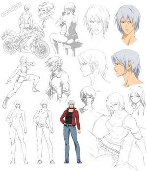 Female design, Reika (Commision)