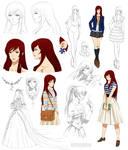 Gentle girl design, Kaho (Commision)