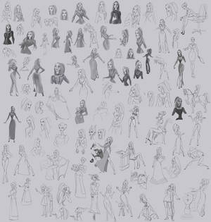 old disney sketches - large