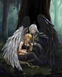 Fallen angel (commision)