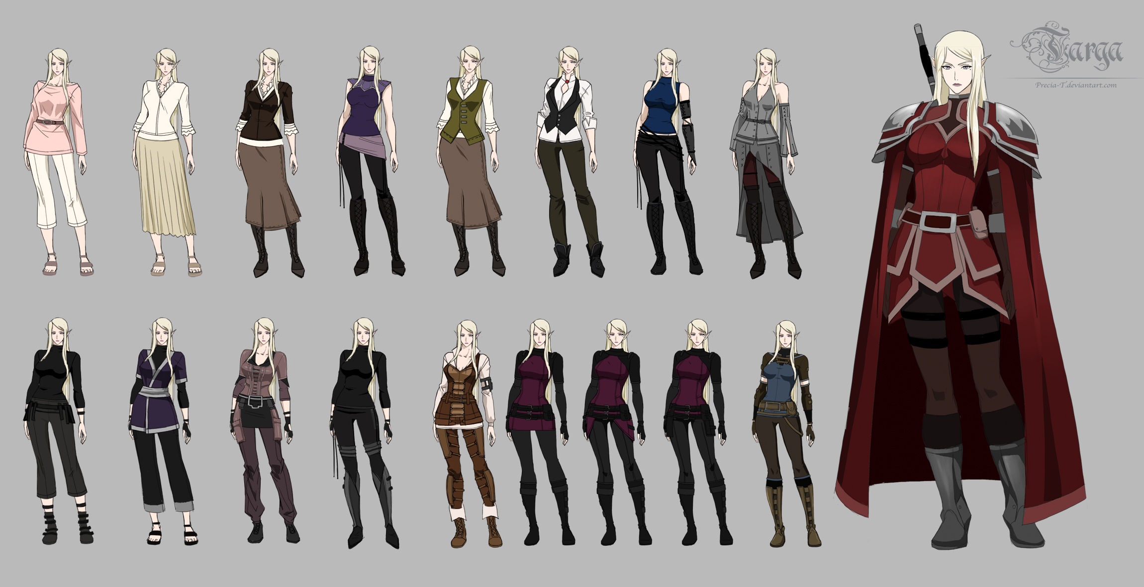 TARGA- Nebula casual outfit set1 by Precia-T