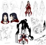 Very evil villain - Kain (commission)