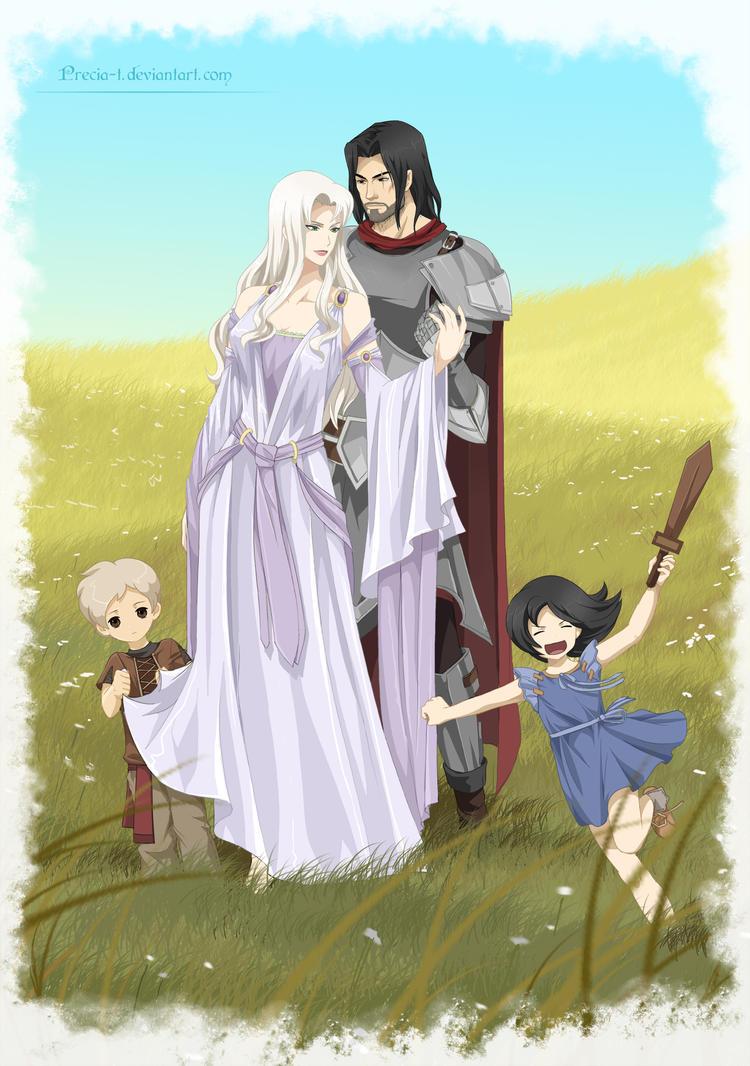 Cassiea family concept  (commission) by Precia-T