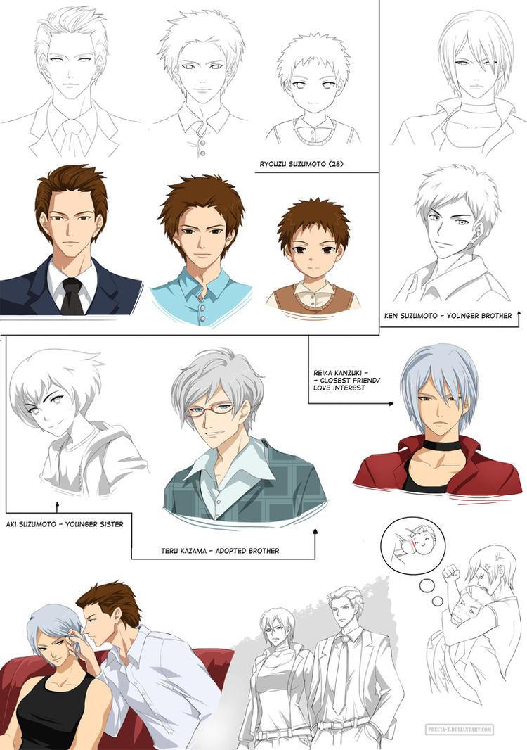 Ryouzu (O'c) sheet - Relations (commission) by Precia-T
