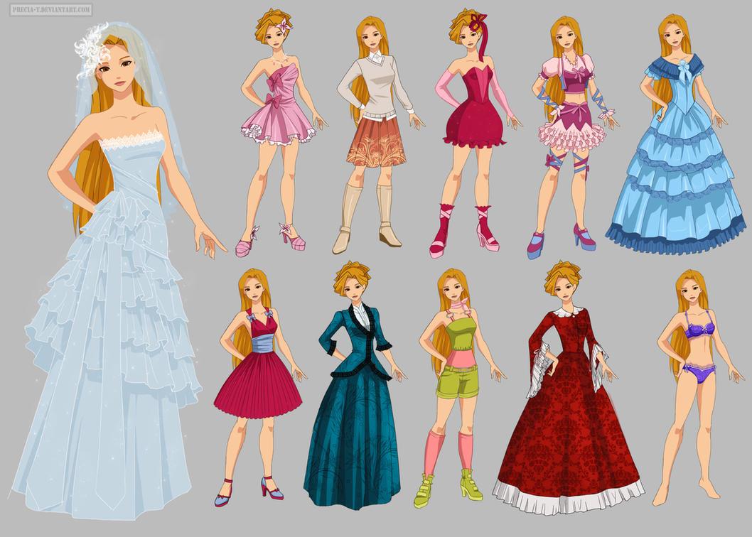Disney princess O'c wardobe, Kirsche (commission) by Precia-T