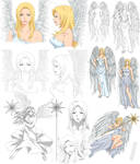 Angel design - Daphne (commission)