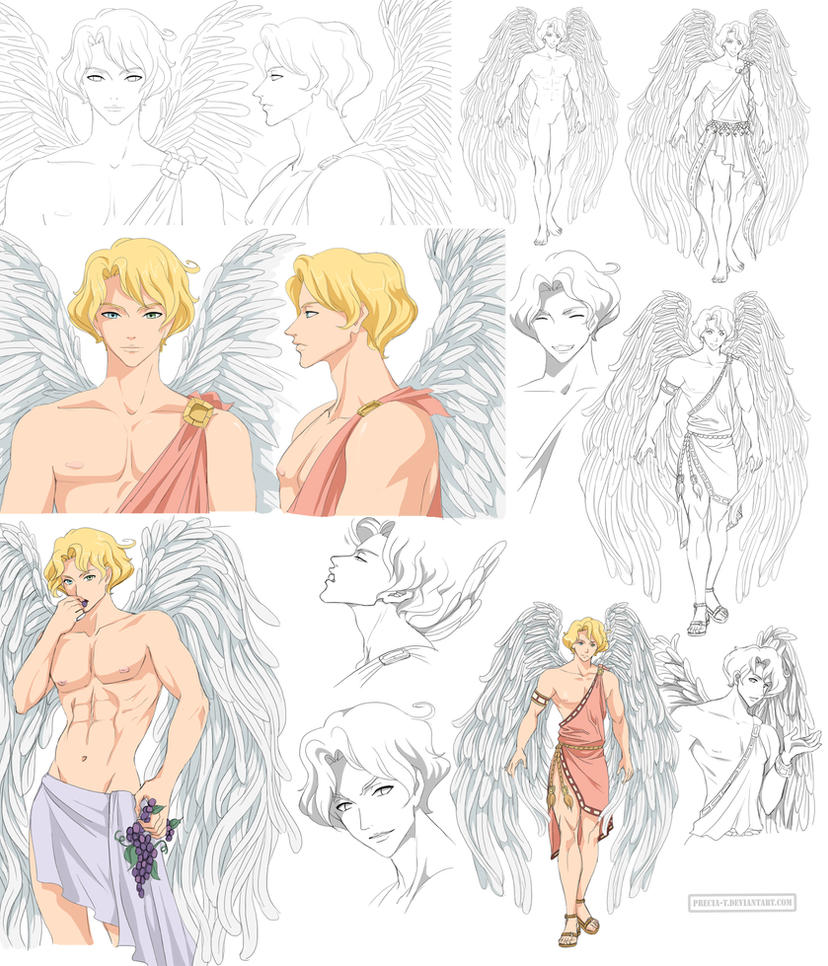 Angel - Gabriel (commission) by Precia-T