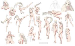 Female anatomy 6 Colored by Precia-T