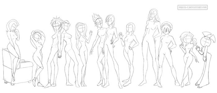 Female anatomy 7 (cartoonish)