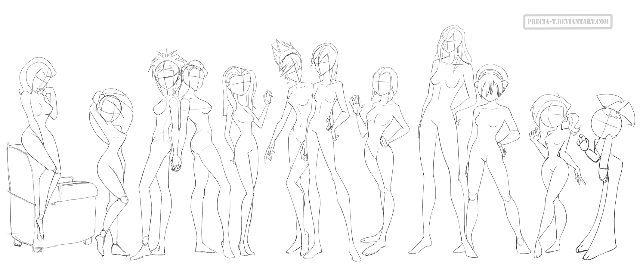It is a picture of Stupendous Women Anatomy Drawing