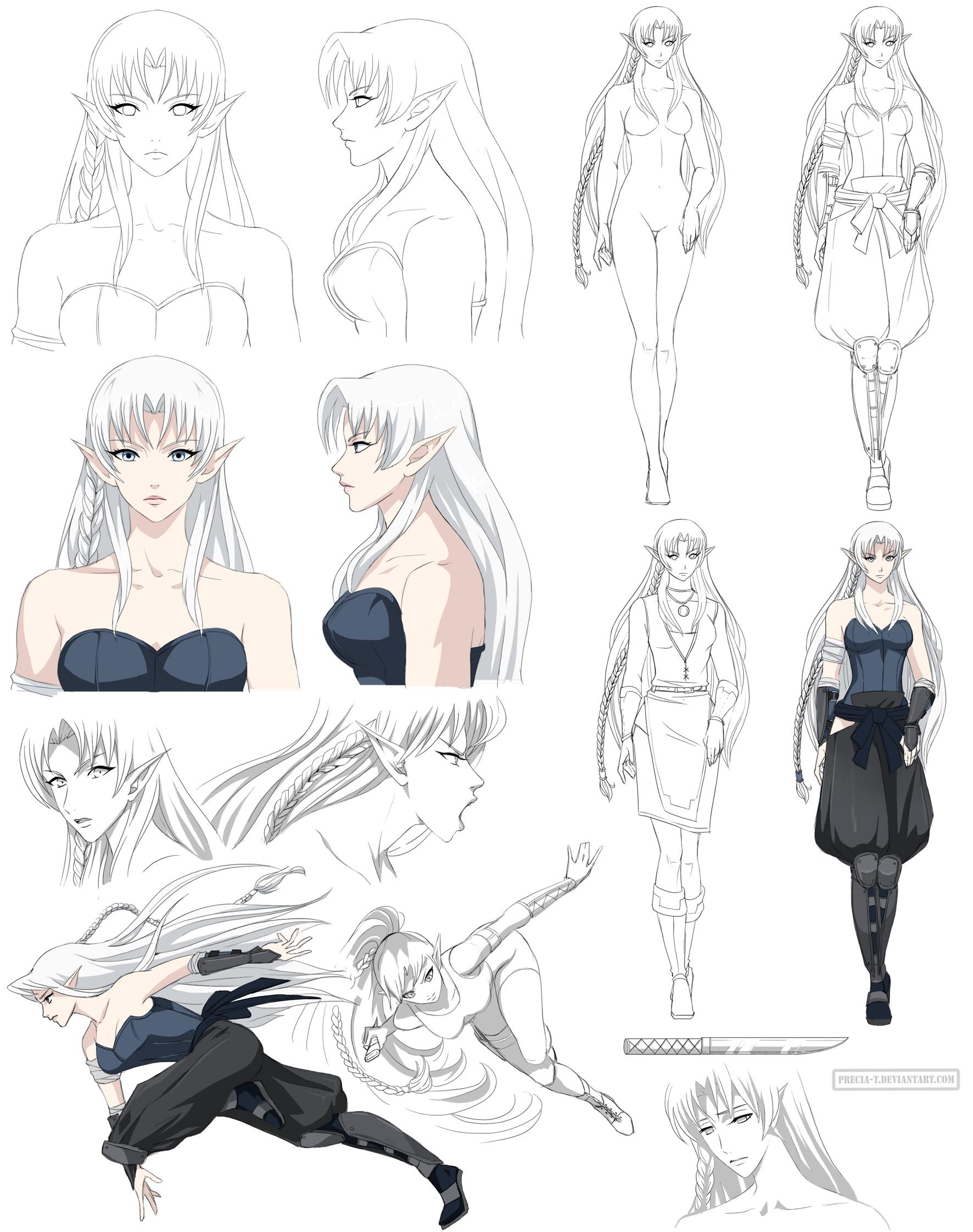 Isadien design (commission) by Precia-T