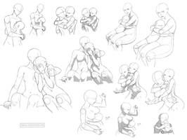 Hug references (FF) by Precia-T