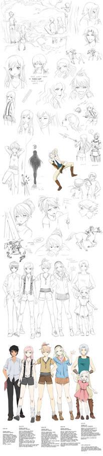 Targa doodles (teens)