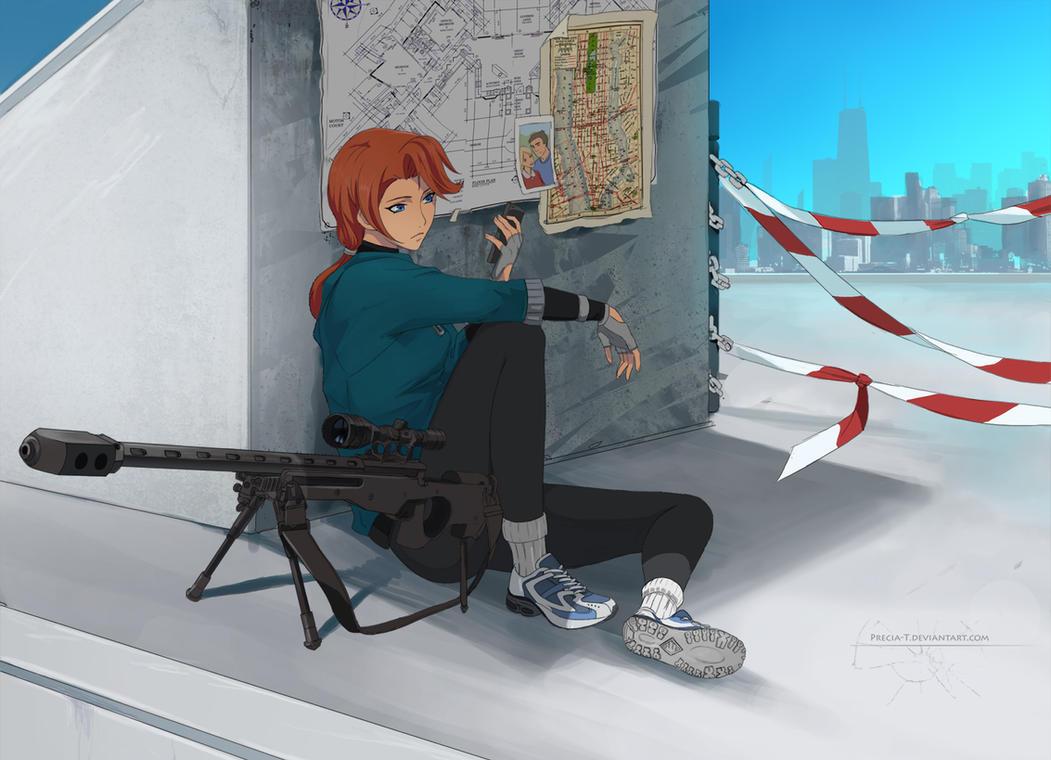 Elizabeth Russo (commission) by Precia-T