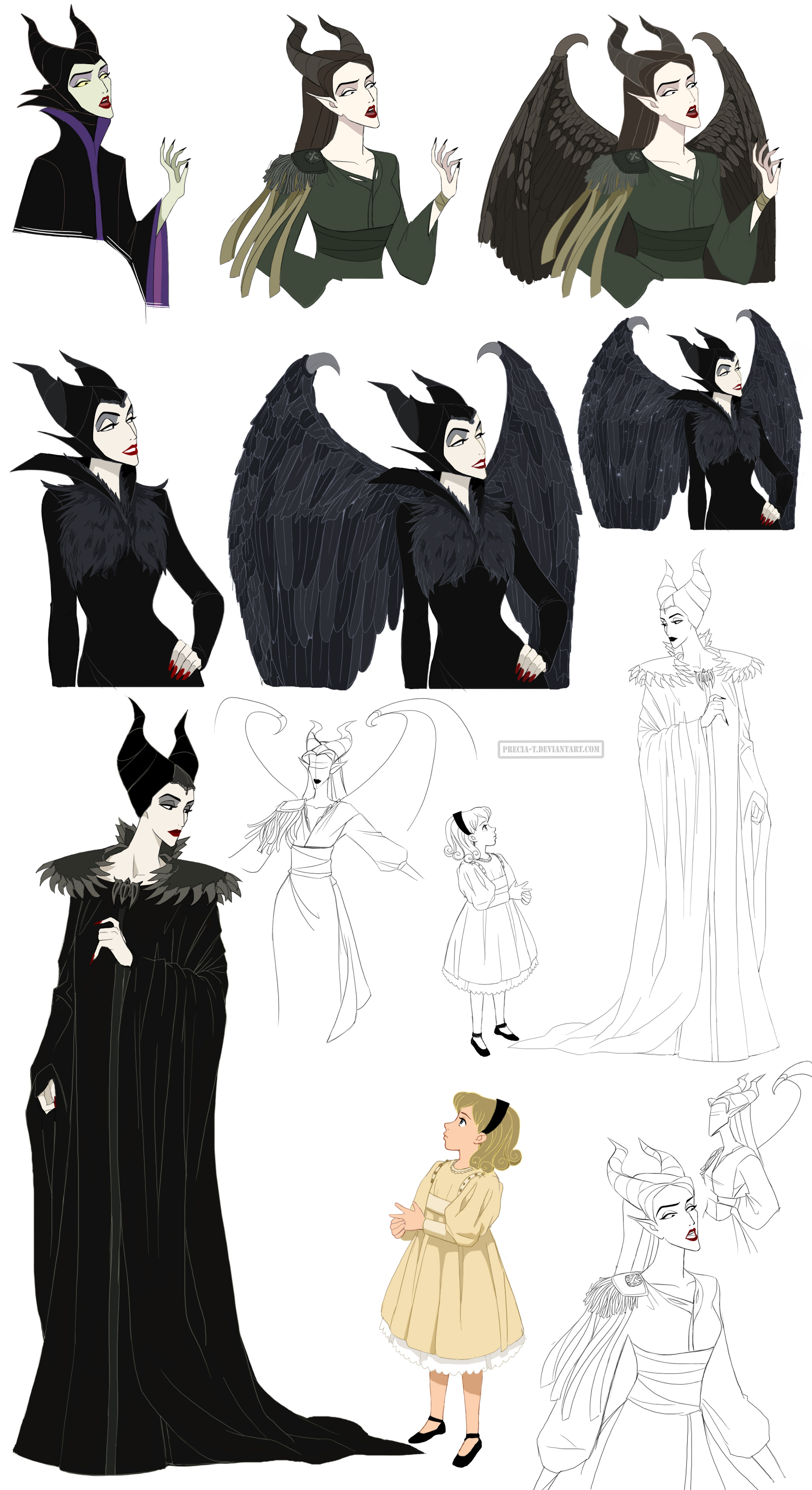 Maleficent Jolie by Precia-T