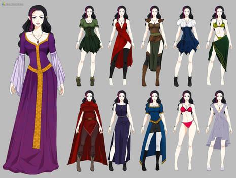 Kerriandra Wardrobe (commission)