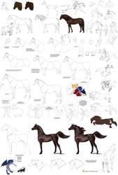 Horses tutorial by Precia-T