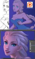 Elsa Frozen - WIP