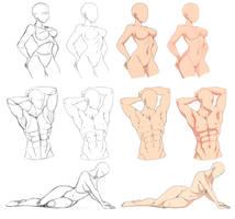 Base poses