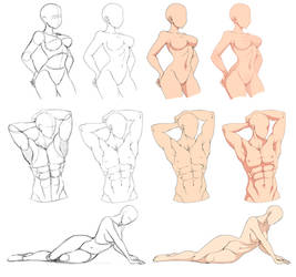 Base poses by Precia-T