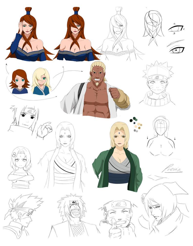 Naruto Practice by Precia-T