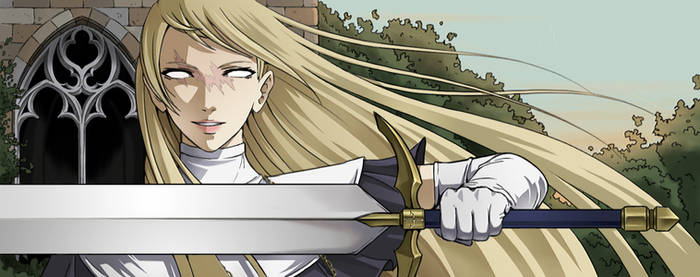 Claymore banner