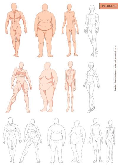 Fullbody types by Precia-T